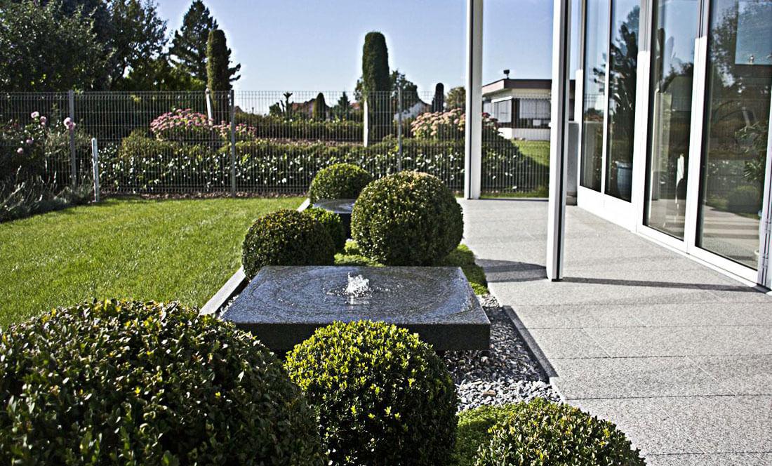 Der Henning - Garten- und Landschaftsbau - Projekt mit Einfassung